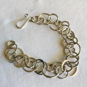 Sterling handcrafted bracelet